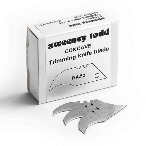 500x Heavy duty Concave blades