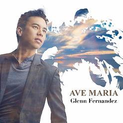 Album cover for Glenn Fernandez's album AVE MARIA