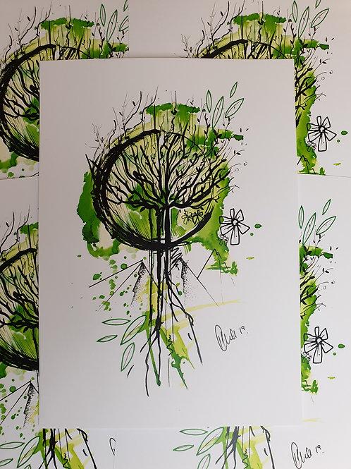 Tree Watercolour