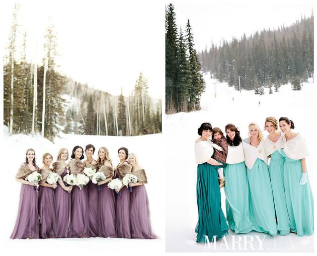 5 советов, как не замерзнуть во время свадебной фотосессии