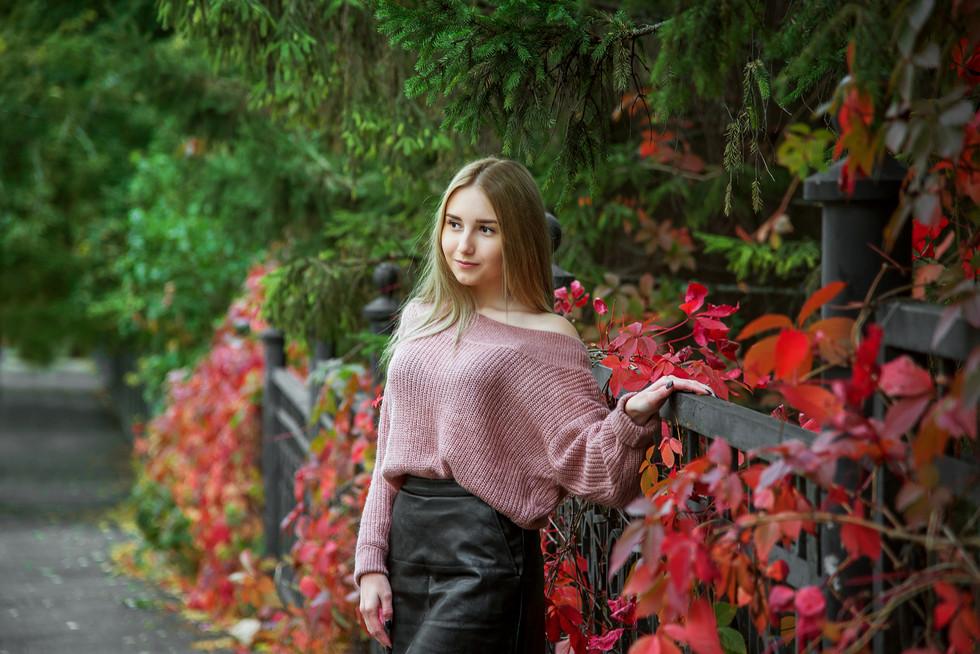 Осенняя фотосессия в Уфе