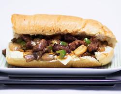 Philly Steak & Cheese Sandwich