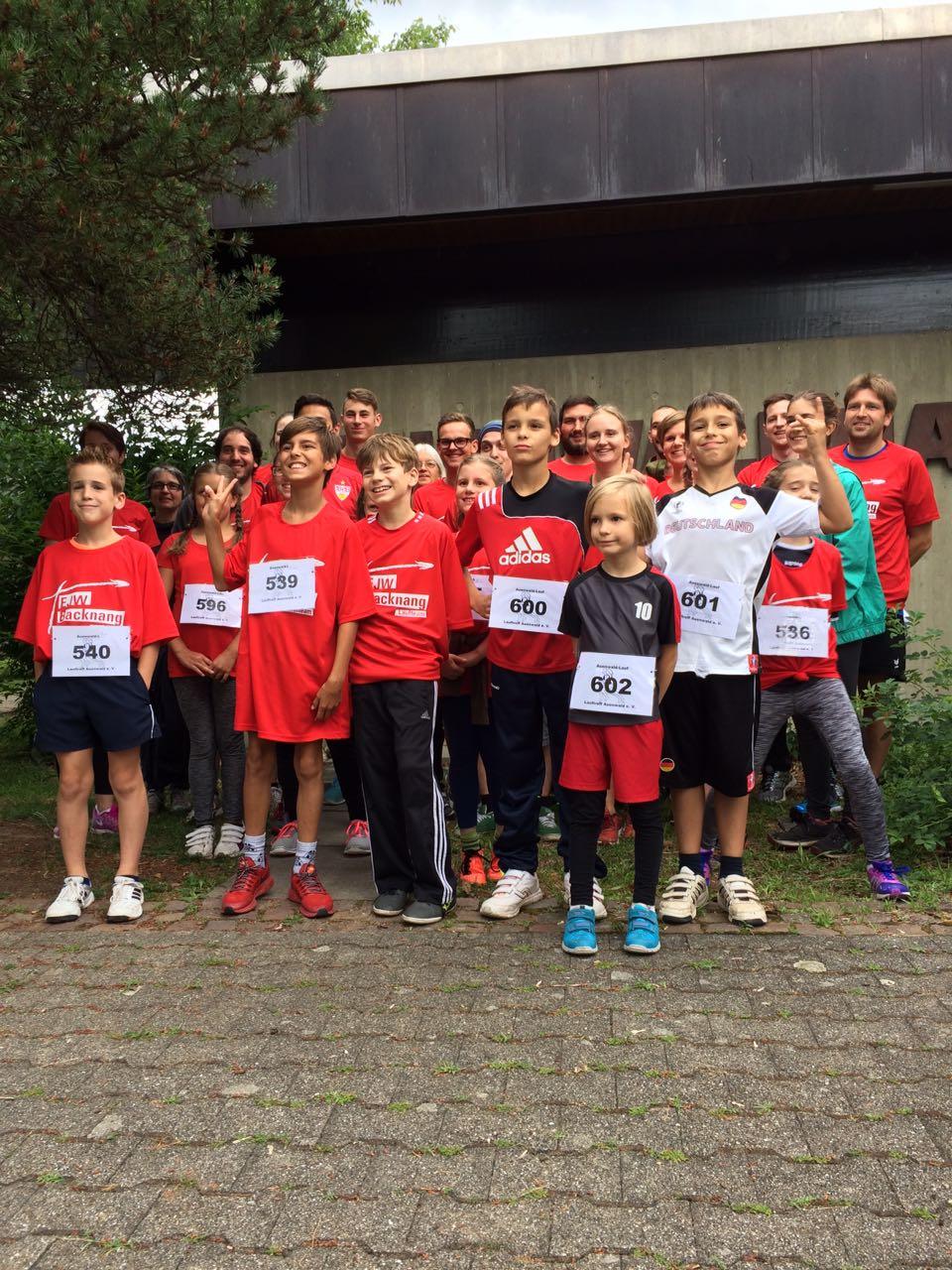 EJW-Sponsorenlauf beim Auenwaldlauf