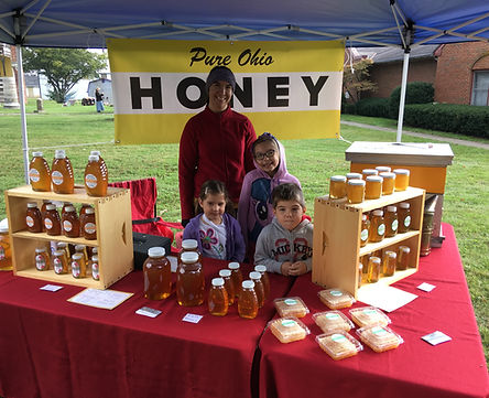 Local raw honey. London Ohio.