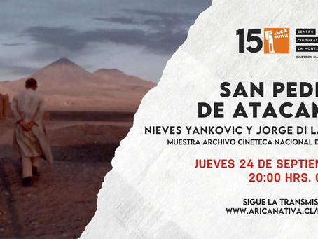 Arica Nativa y Cineteca Nacional  inician ciclo de películas online gratuitas
