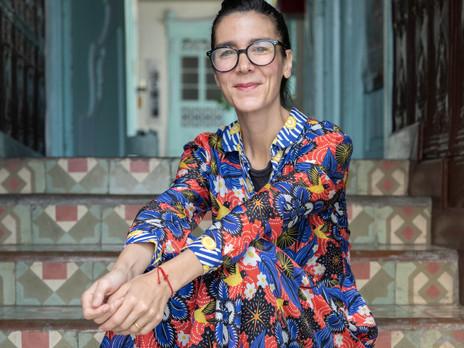 CATALINA ESTRADA DISEÑA PAÑUELO SOLIDARIO PARA EL FESTIVAL ARICA BARROCA