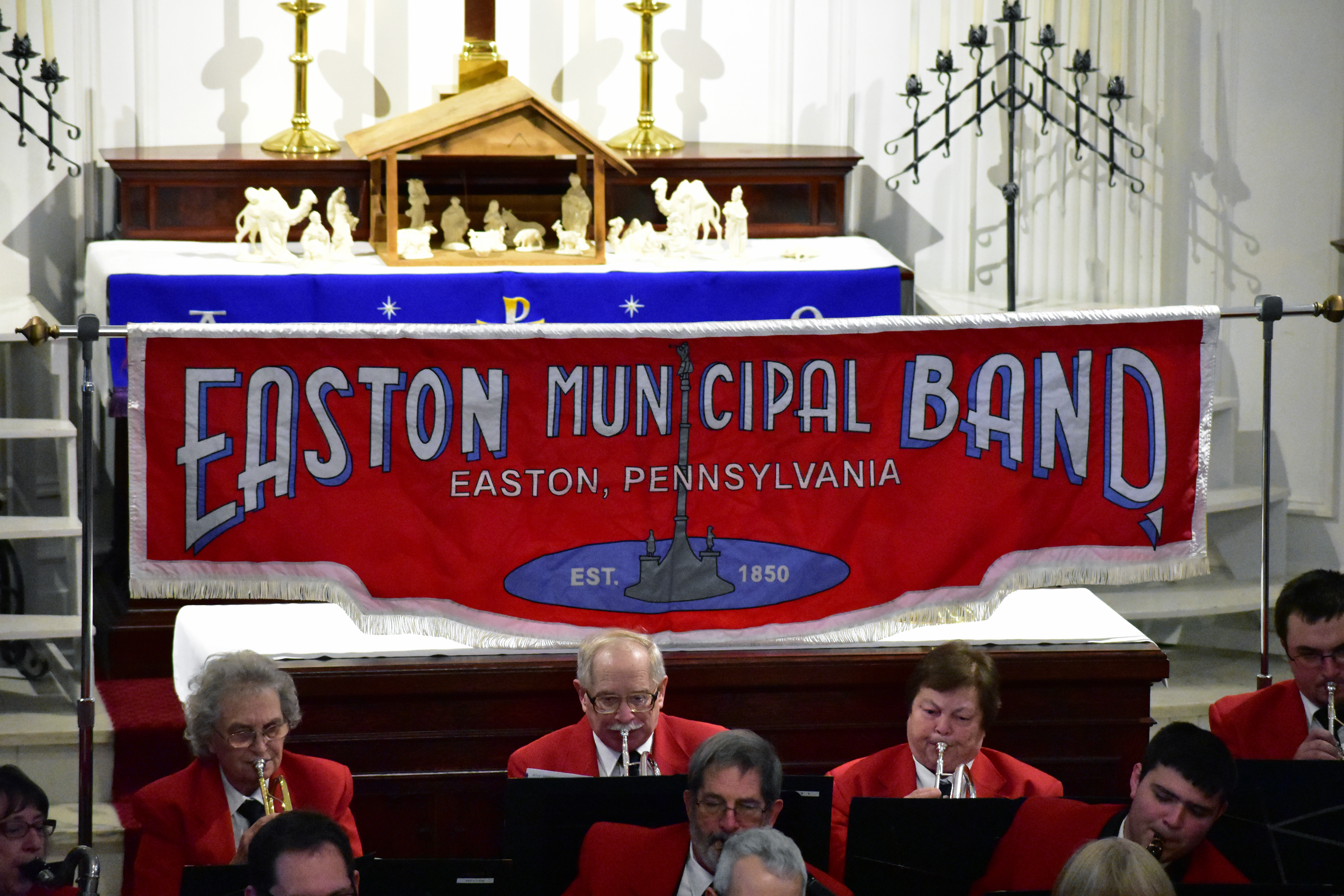 Easton Municipal Band, Holiday Concert 2017