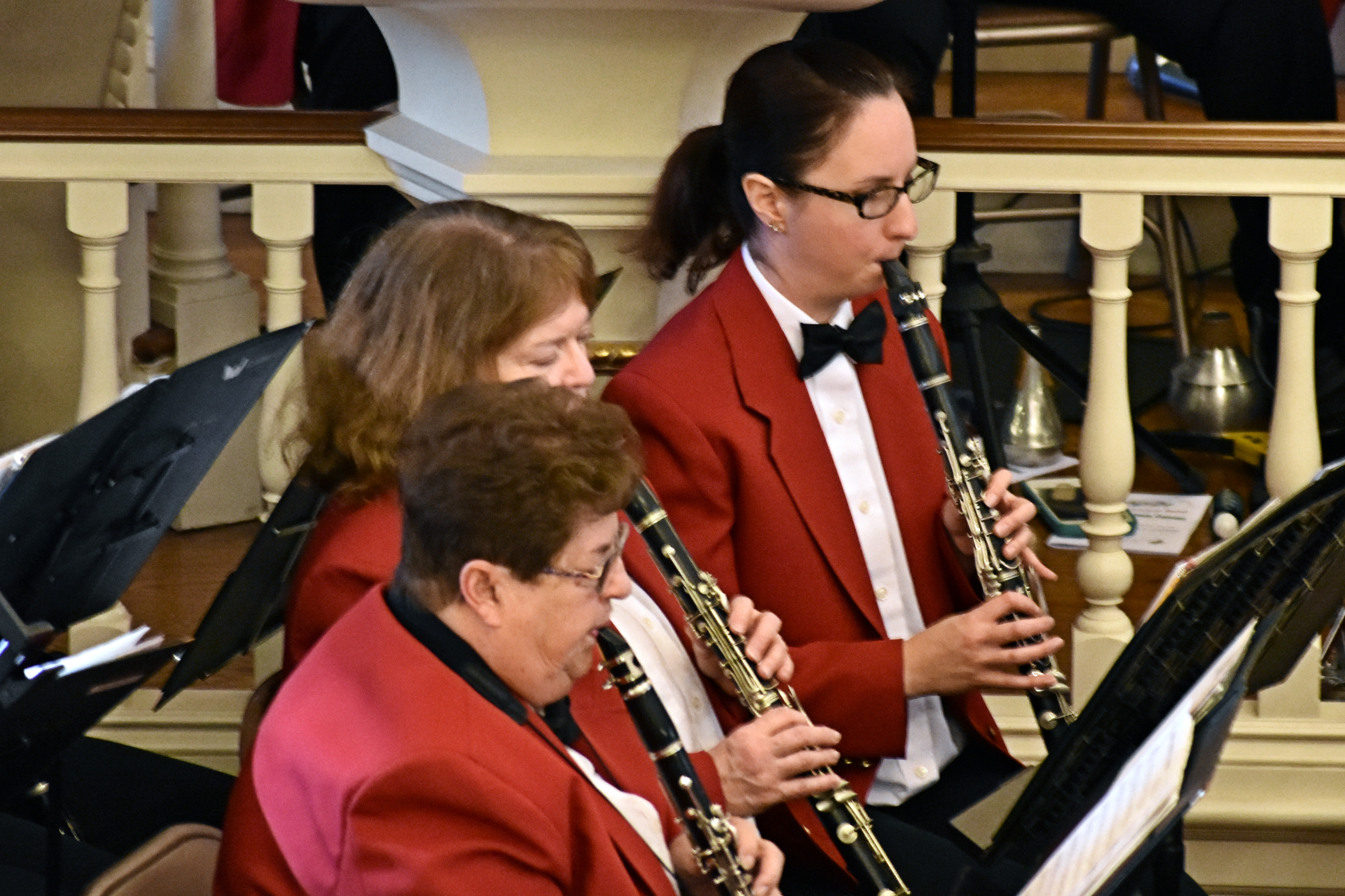 Easton Municipal Band, Holiday Concert 2016