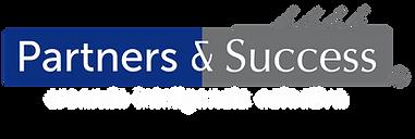 P&S - Logo con letras blancas y sin fond