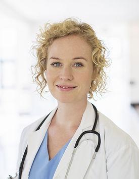 bionda medico