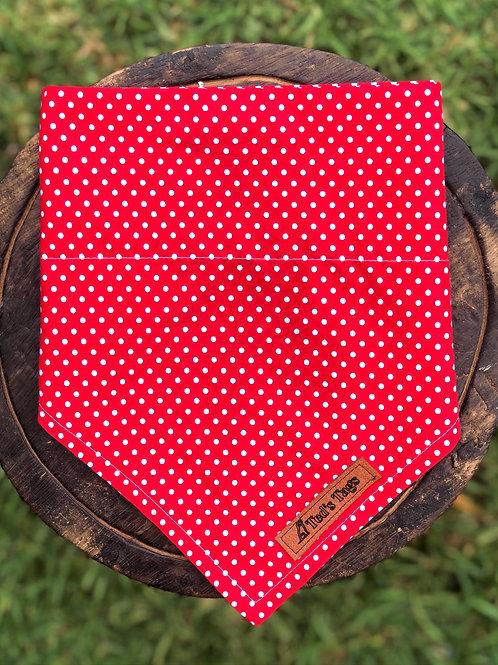Red Polka Dot Design