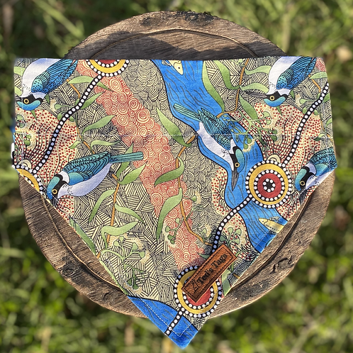 Riverside Indigenous Design Dog Bandana