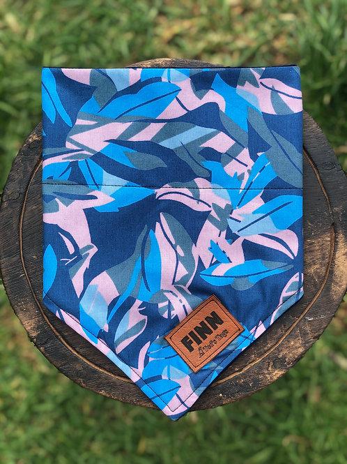 Blue & Pink Camo Design Bandana