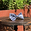 Thumbnail: Blue/White Shell Design Bow Tie