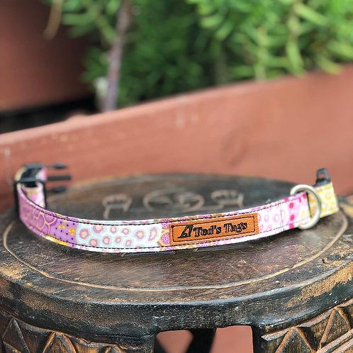 Indigenous Daisy Design, Pink/White/Yellow