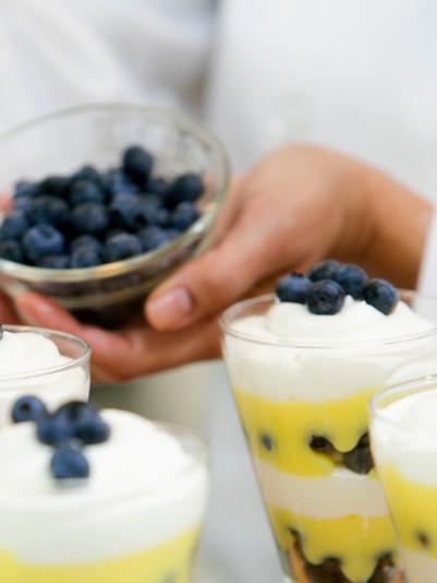 Layered Blueberry Dessert