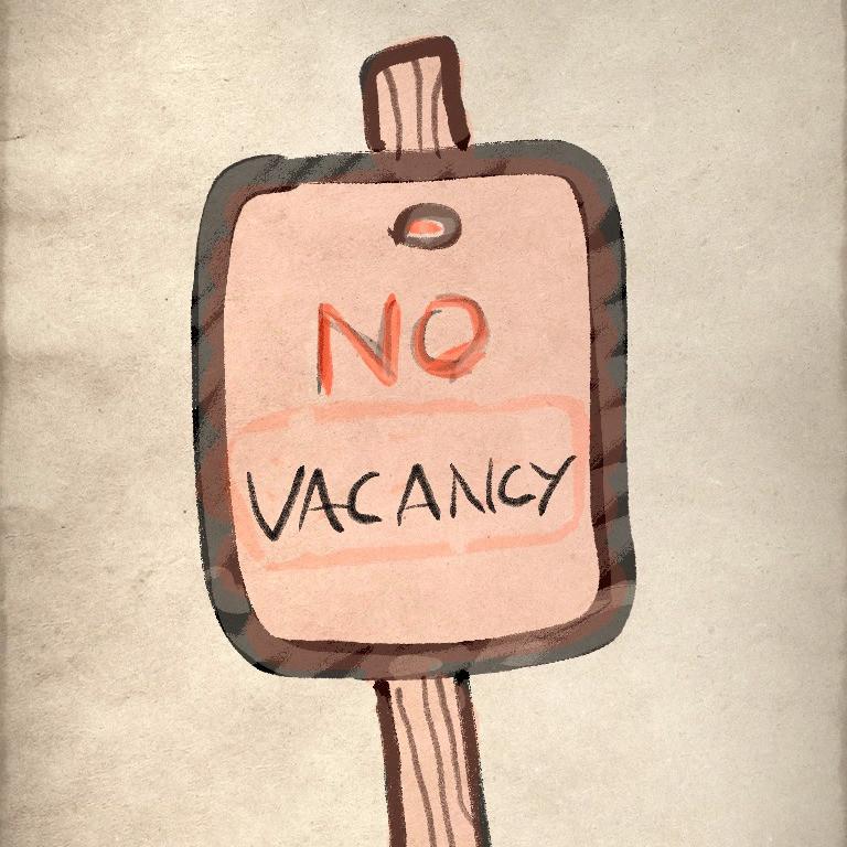 keep no vacancy