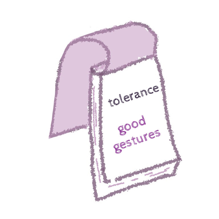 tolerance done properly