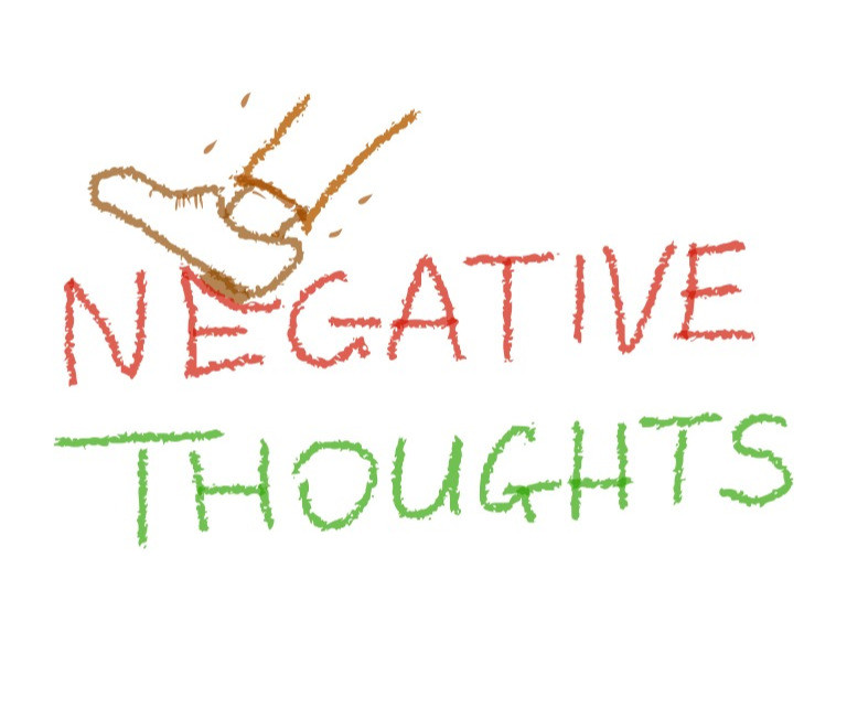 crush negative thoughts