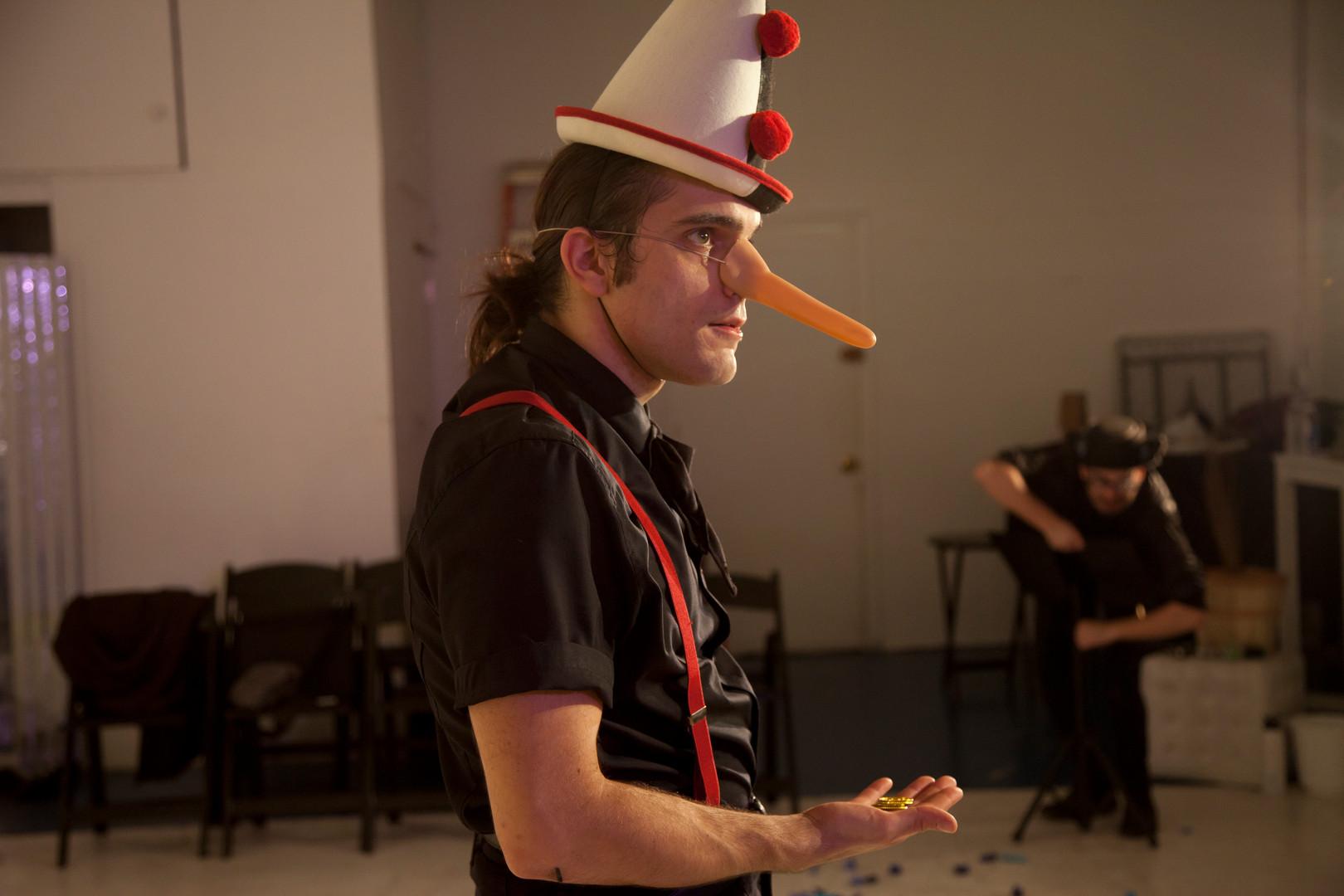 Pinocchio, Teatro delle Due, 2016