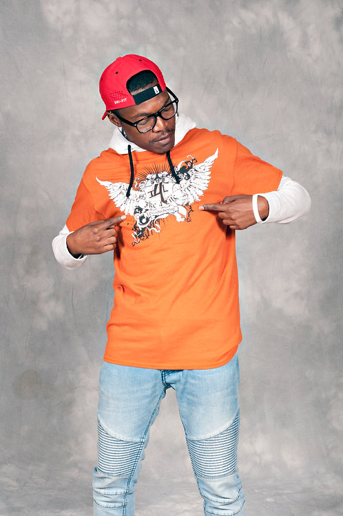Ike 4 Life Productions Texas Orange T-Shirt