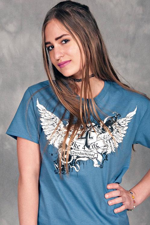 Ike 4 Life Productions Indigo Blue T-Shirt