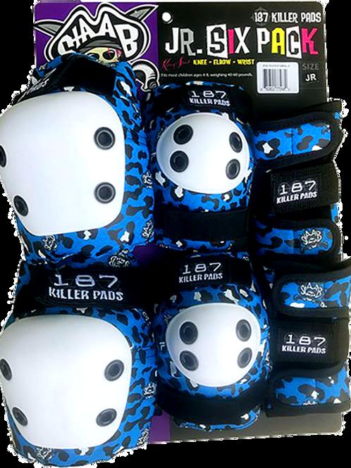 187 Junior Pad Set - Leopard Blue Edition