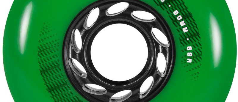 Powerslide spinner 80mm/88a green 4 pack