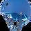Thumbnail: Triple 8 Helmet - Royal Blue