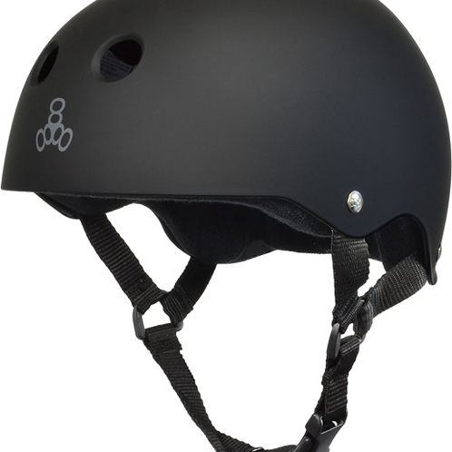 Triple 8 Helmet - Black