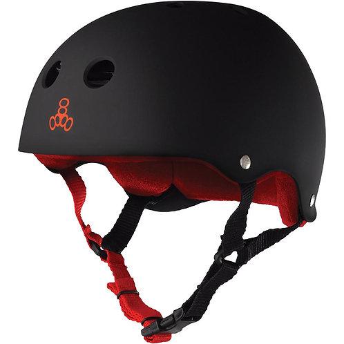Triple 8 Sweatsaver Helmet Black/Red