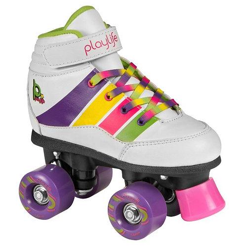 Playlife Groove Kids Roller Skate (White)