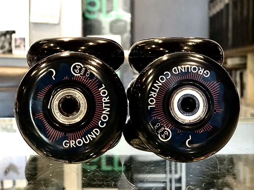 Ground Control 64mm Wheels with Bearings Included