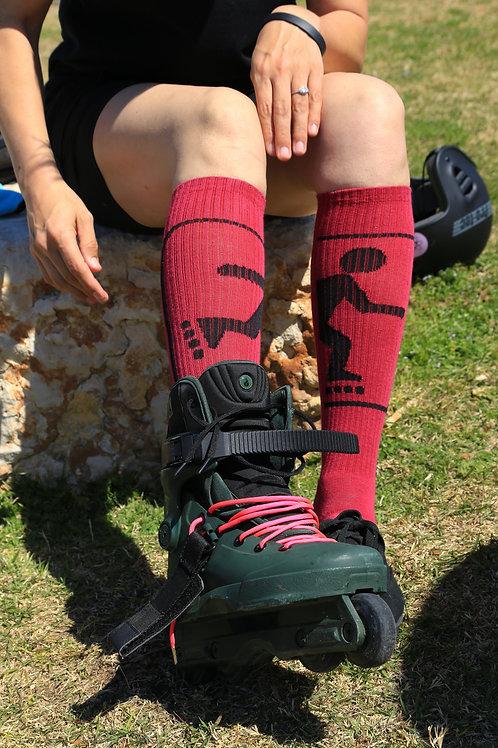 Cess Socks Knee High Roller