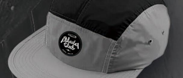 Blade Club Originals Dual Color 5 Panel Black/Grey