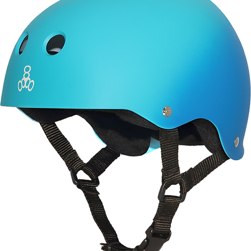 Triple 8 Brainsaver Helmet Fade Blue/Turquoise