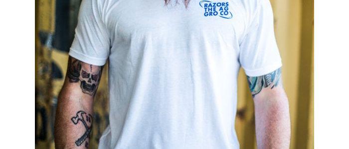 Razors Aggro T Shirt White