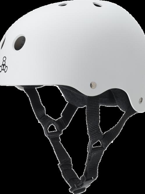 Triple 8 Helmet - White