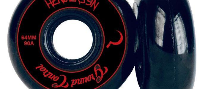 GC 64mm Henderson Wheels in RED or BLACK (4-pack)