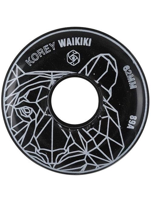 Red Eye Korey Waikiki 62mm 89a Wheel
