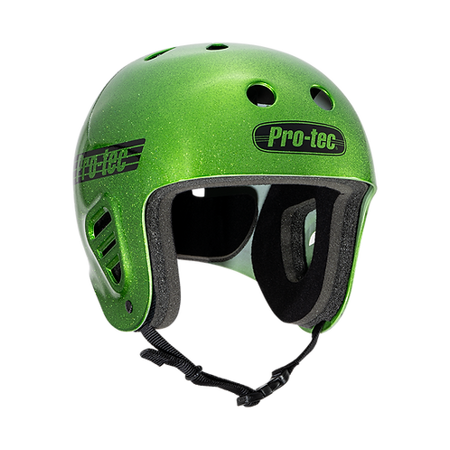 Protec Full Cut Skate - Candy Green Flake