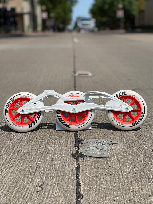"125mm Frame Elite casted MG Frame 12.5"" ,Matter wheels, Wicked bearings"