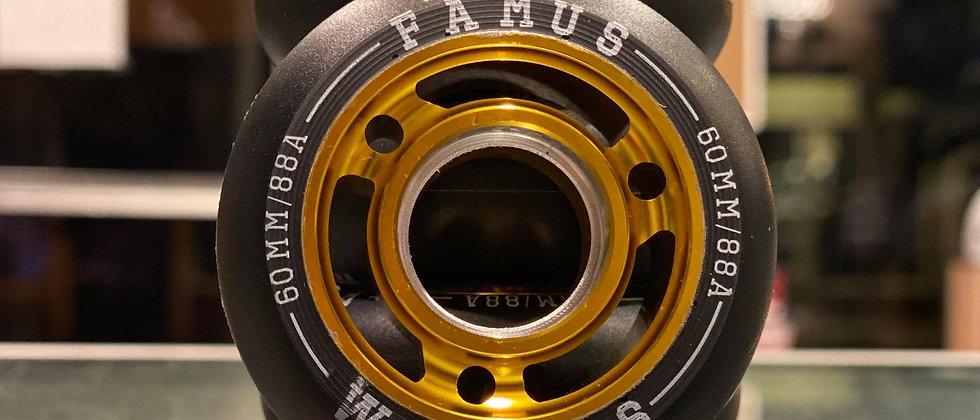 Famus 60mm 88a Gold core