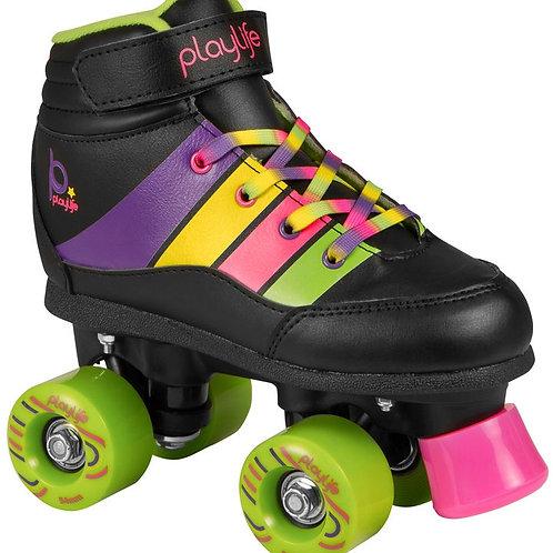 Playlife Groove Kids Roller Skate(Black)