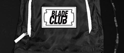Blade Club Sports Bag Black/White