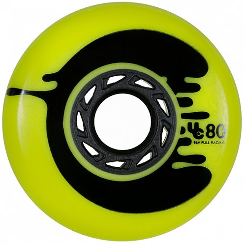 Under Cover Wheels Cosmic Roche Yellow, 80mm 86a