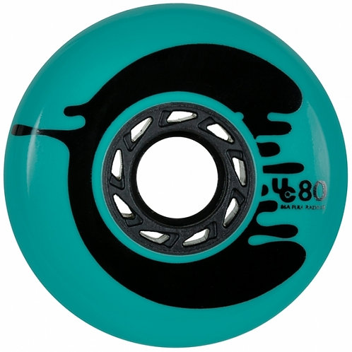 Under Cover Wheels Cosmic Roche teal, 80mm 88a