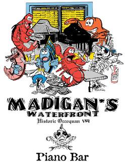 Madigan's Piano T-Shirt Ink