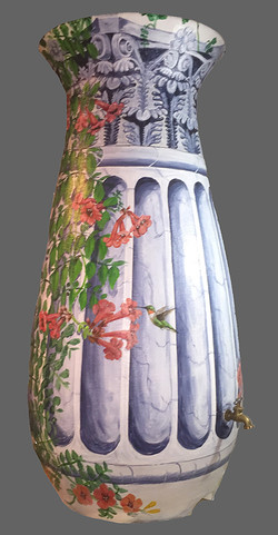 Architechtural Water Barrel