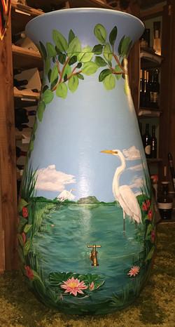 Egret Water Barrel